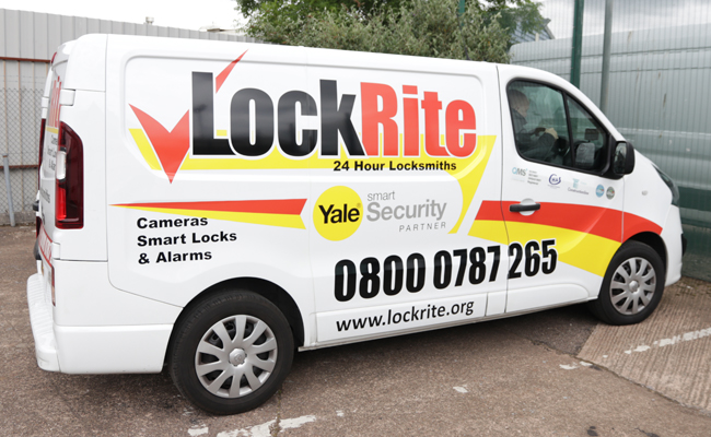 Locksmith Van - Right Side
